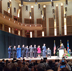 Council swearing in