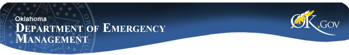 Oklahoma Department of Emergency Management Banner Image