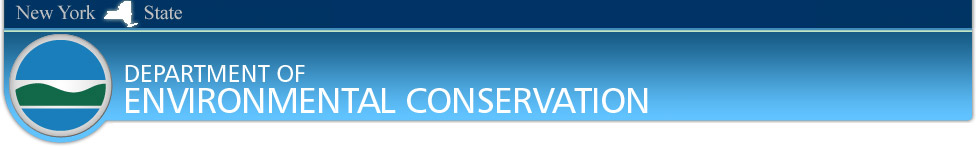 New York State Department of Environmental Conservation Banner Image