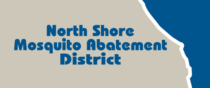 North Shore Mosquito Abatement District banner graphic