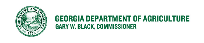 Georgia Department of Agriculture Banner Image
