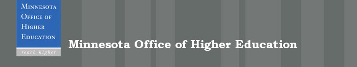 Minnesota Office of Higher Education Banner Image