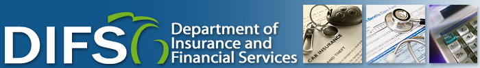 Michigan Department of Insurance and Financial Services banner image