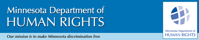 Minnesota Department of Human Rights banner image