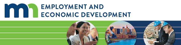 Header for the Minnesota Department of Employment and Economic Develoment