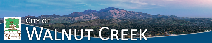 City of Walnut Creek banner graphic