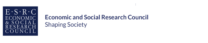 Economic and Social Research Council banner