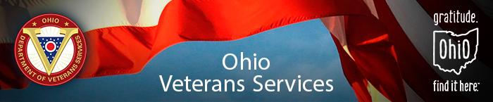 Ohio Department of Veterans Services banner graphic