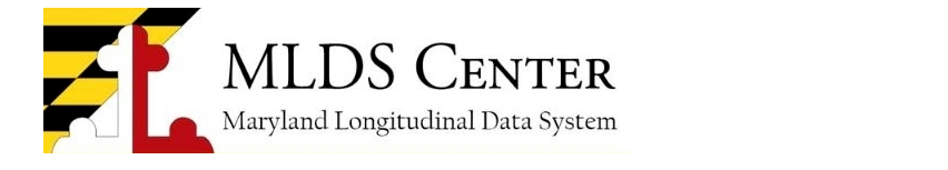 Maryland Longitudinal Data System Center Banner