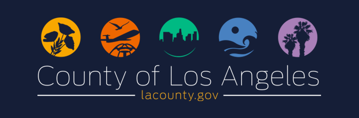County of Los Angeles banner graphic