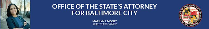 Office of the State's Attorney for Baltimore City Banner