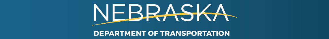 Nebraska Department of Transportation banner