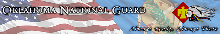 Oklahoma National Guard banner graphic