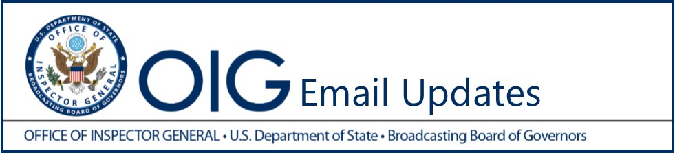 OIG Email Updates