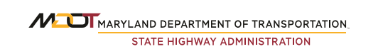 Maryland Department of Transportation State Highway Administration