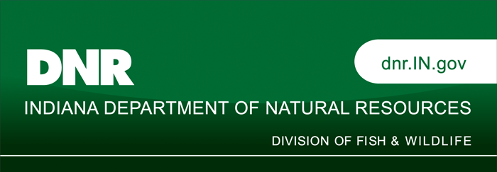 Indiana Department of Fish and Wildlife banner